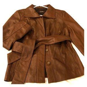 Cole Haan Lambskin Jacket